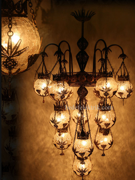 Turkish Style - Mosaic Lighting - Code:  HD-04161_86