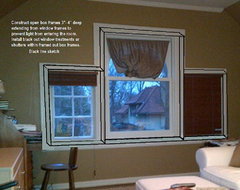 After - Window Treatments - What to do for complete light block out?
