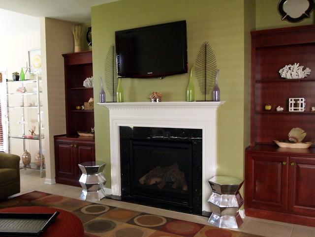 Macungie Contemporary Family Room contemporary-living-room