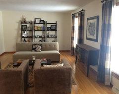 Odd shaped bedroom furniture arrangement bedroom category for Odd shaped living room furniture placement