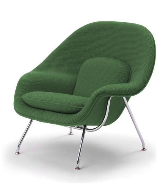 knoll kids - Medium Womb Chair - Grade H Fabric modern-kids-chairs