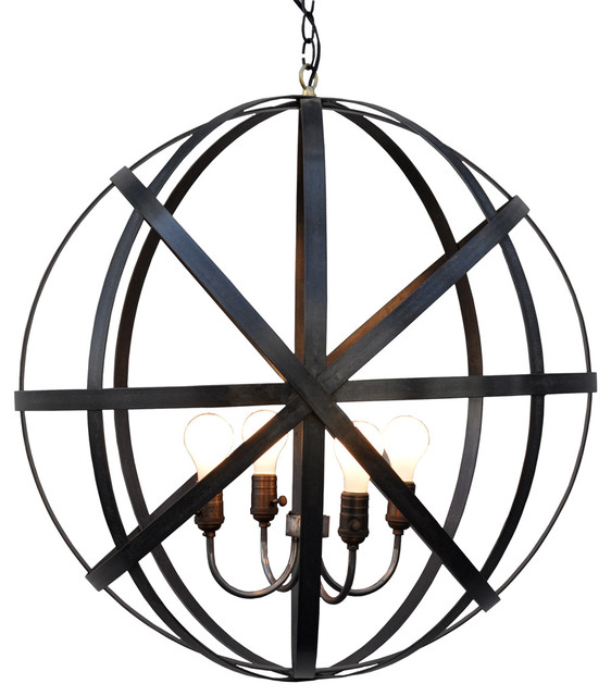 Metal Round Lantern Modern Outdoor Hanging Lights By Bliss Home And Design