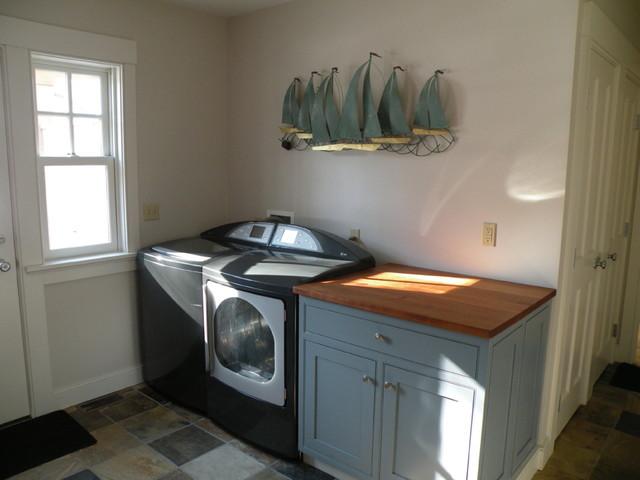 Newport, RI traditional-laundry-room