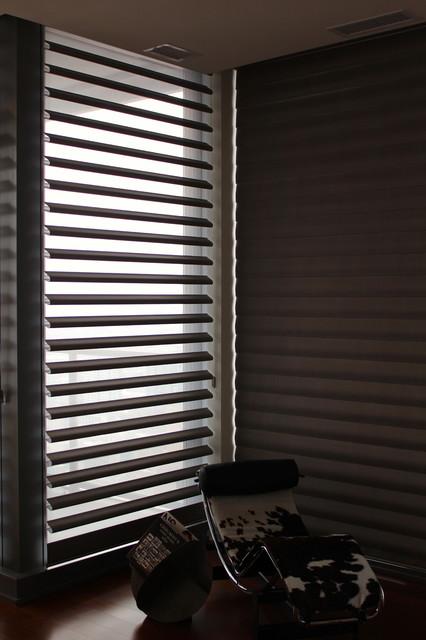 Hunter Douglas Pirouettes - Chicago modern-window-treatments