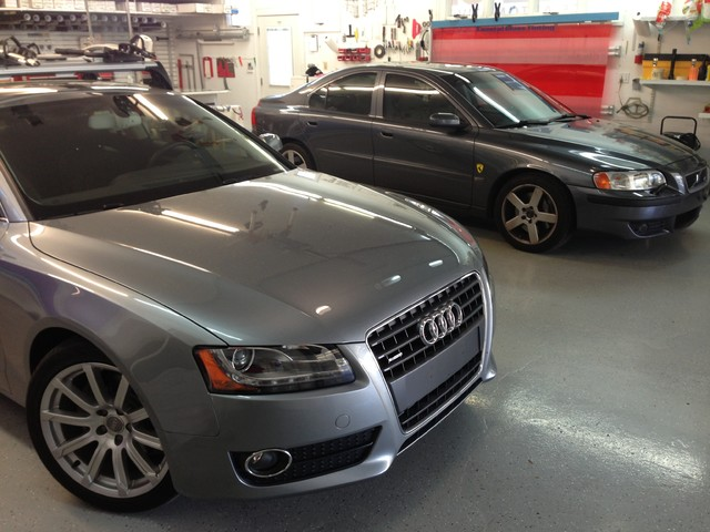 2011 A5 Coupe & 2004 Volvo S60 window-treatments