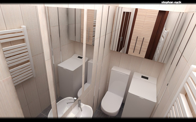 STEPHAN EYCK - bathroom interior design modern-powder-room