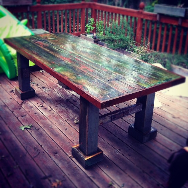 Barn door table - dining tables - atlanta - by Woodology