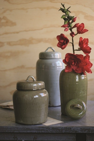 Loop Lid Canisters transitional-decorative-accents
