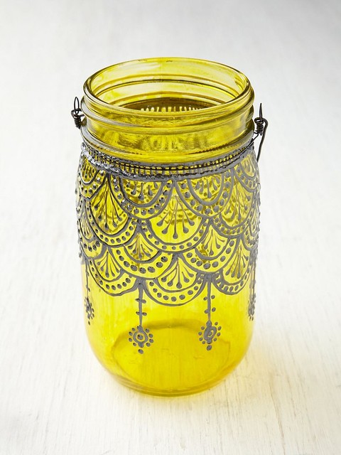 Mason Jar Lanterns contemporary candles and candle holders