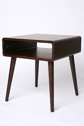 Danish Modern Side Table modern side tables and accent tables
