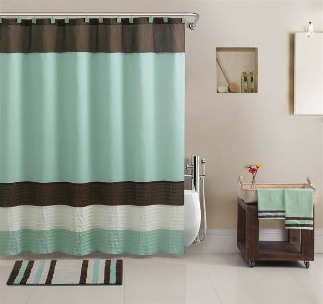 regatta shower curtain towel and bath accessory 17 piece. Black Bedroom Furniture Sets. Home Design Ideas