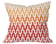 Arcturus Warm 1 Throw Pillow, 20x20x6 contemporary-decorative-pillows