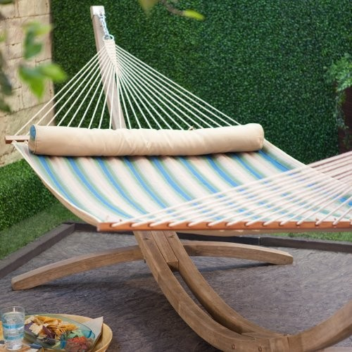 Island Bay Dura-Weave Quilted Hammock traditional-hammocks-and-swing-chairs