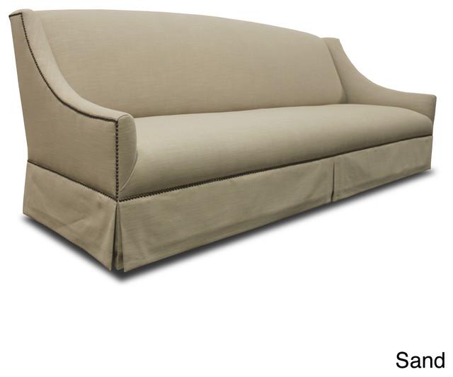 Camille Premium Linen Down Wrapped Sofa Contemporary