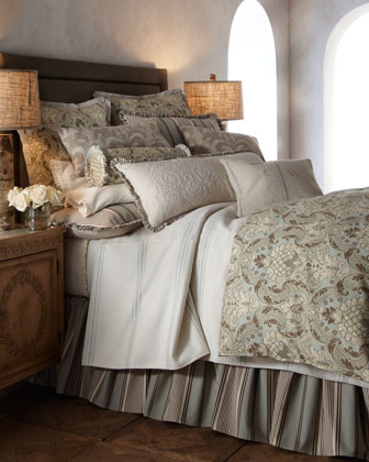 French Laundry Home Silver Birch Bed Linens Extra-Long Pillow, 34 x 15 traditional-bed-pillows-and-pillowcases