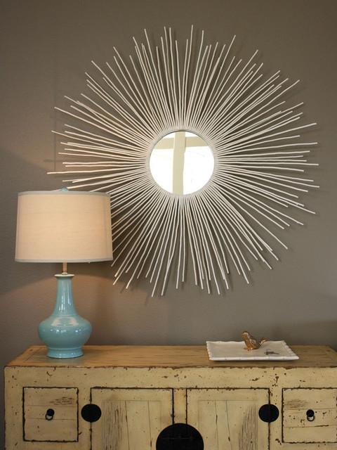 Create a Sunburst Mirror : Rooms : Home & Garden Television frames
