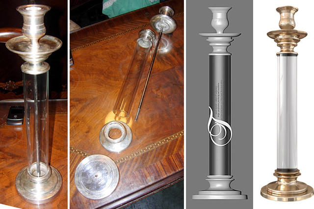 Design - Custom Interior Fabrications eclectic-candles-and-candleholders
