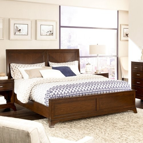 Essex Low Profile Storage Bed Contemporary Beds By