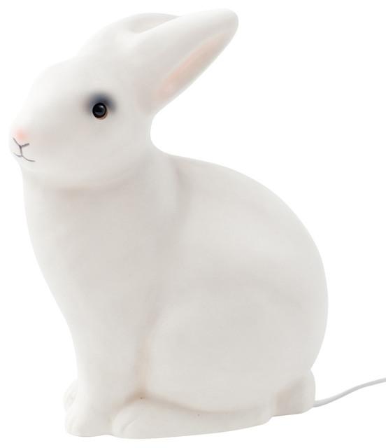 White Rabbit Lamp contemporary-kids-lamps