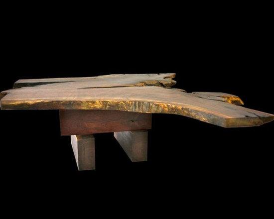 Natural Walnut Coffee Table - Robin Wade