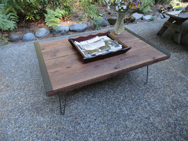 Industrial Coffee Table traditional coffee tables