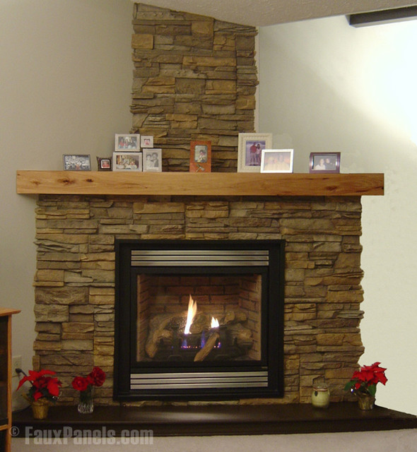 Fireplace Design Concepts Transitional Indoor Fireplaces New York By Fauxpanels