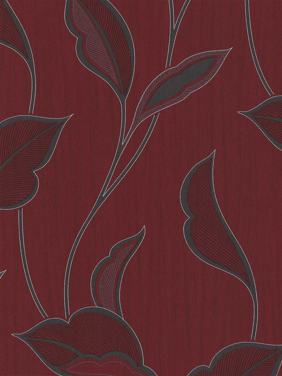 Patricia - Add rich, warming hues to your home with this contemporary wallpaper from the book Patricia at AmericanBlinds.com