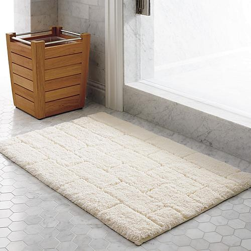 Santorini Tile Bath Rug traditional-showerheads-and-body-sprays