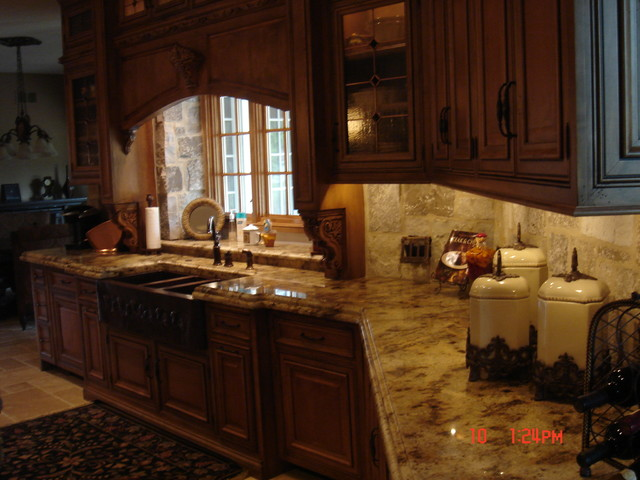 Granite Countertops traditional-kitchen-countertops