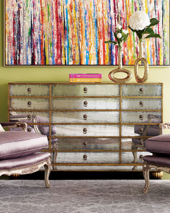 Orleans Mirrored Chest traditional dressers chests and bedroom armoires
