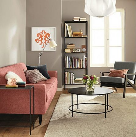 Reese Sofa With Slim Accent Tables Room By R B Modern Living Room O