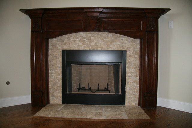 Large Custom Home in Kankakee County indoor-fireplaces