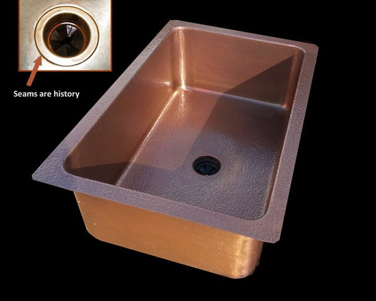 Copper Kitchen Sink -