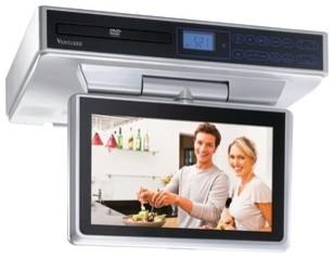 "VENTURER KLV39103 10"" Under-Cabinet LCD TV/DVD Combination modern-home-electronics"