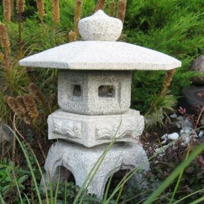 Stone Age Creations Granite Kodai Rokkaku Yukimi Lantern Garden ...