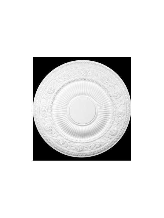 Primed Urethane Ceiling Medallion - Primed Urethane Ceiling Medallions: Made of virtually indestructible high-density urethane our medallions are cast from steel molds making them the highest quality on the market.