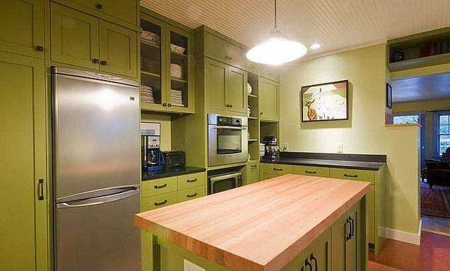 Green Kitchen eclectic-kitchen