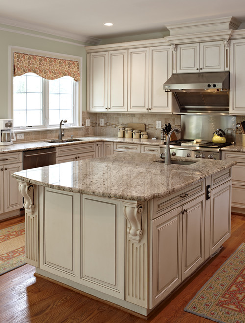 Bianco Romano Granite Countertops Design Ideas.