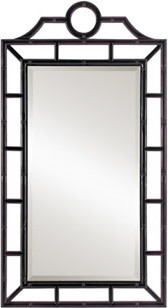 Chloe Mirror, Black contemporary mirrors