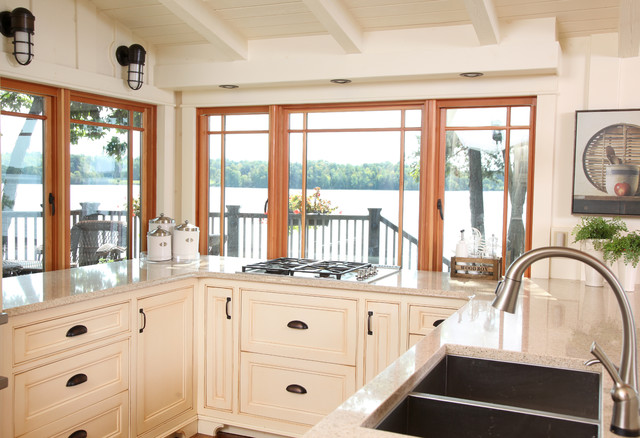 Seeley's Bay Summer Home traditional-kitchen