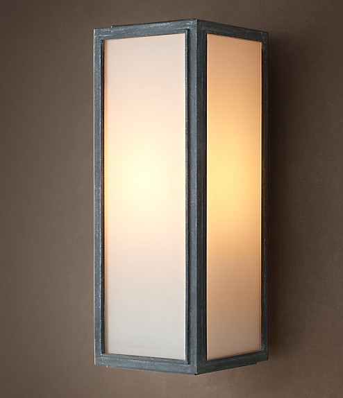 3 Light Wall Sconce Bronze : LOFT Light Box Wall Sconce - Contemporary - Wall Sconces - new york - by PHOENIX LIGHTING