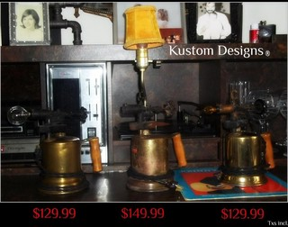 Funky Lighting - Eclectic - Table Lamps - montreal - by Kustom Designs