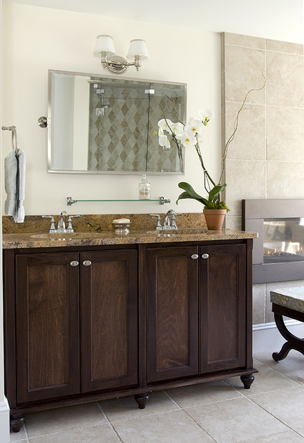 Celia Bedilia Double Vanity - traditional - bathroom vanities and ...