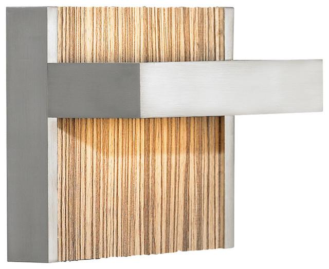 Ashland Zebra LED Wall Sconce by LBL Lighting - contemporary