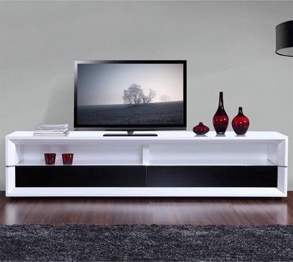 Modern executive tv console in white traditional entertainment