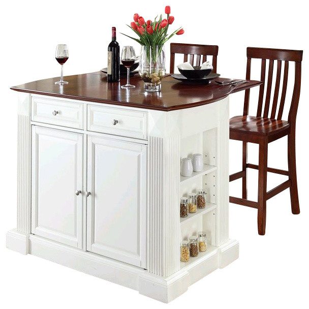 crosley coventry drop leaf breakfast bar kitchen island double kitchen islands design ideas