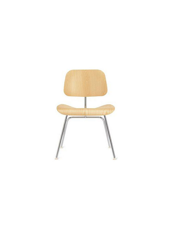 Eames Molded Plywood Dining Chair - This iconic classic was designed by Charles and Ray Eames back in 1946, when they were experimenting with bent wood and ergonomic comfort. It's available in a variety of finishes and also as a lounge chair, with a choice of metal or wood legs.
