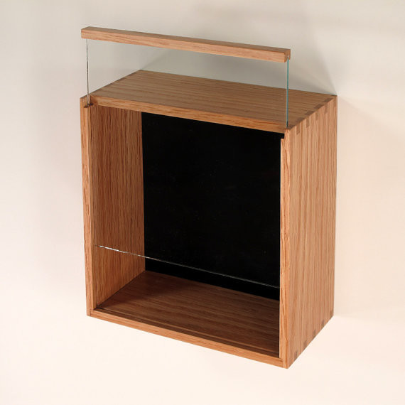 Custom Shadow Box Display Case by JM Craftworks - Contemporary - Picture Frames - by Etsy