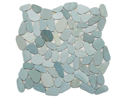 Zen Paradise Sliced Pebble / Wave Tile 2013 -