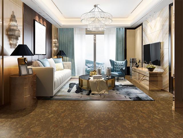Cork Flooring - Sunny Ripple modern